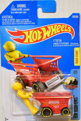 HOT WHEELS 2017 HW RIDE-ONS AISLE DRIVER #2//5 RED
