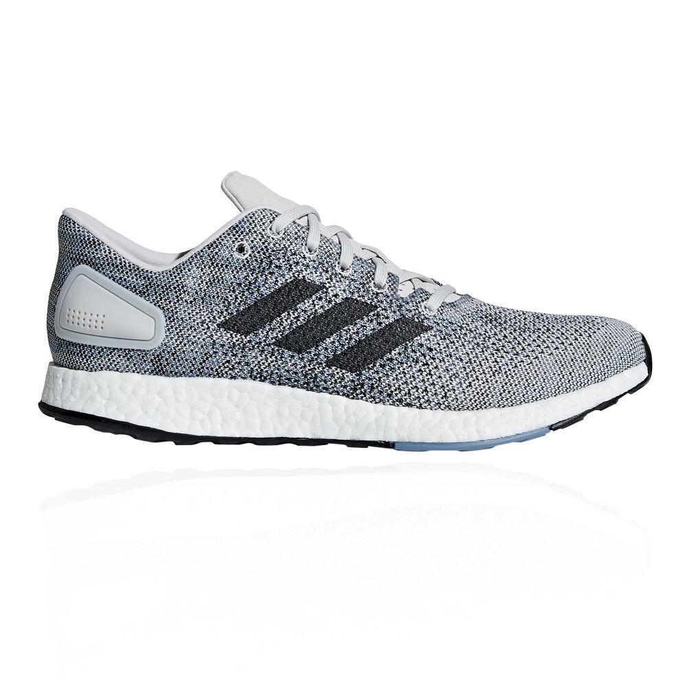 Adidas mens pureboost dpr laufschuhe atmungsaktiv ausbilder turnschuhe grauen sport atmungsaktiv laufschuhe 9e7430