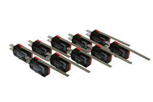 10-pc-TEMCo-Micro-Limit-Switch-Long-Lever-Arm-SPDT-Snap-Action-CNC-home-LOT