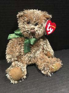 """TY BEANIE BABY """"Sheba"""" Bear Timeless Harrods UK Country Exclusive 2008 MWMT"""