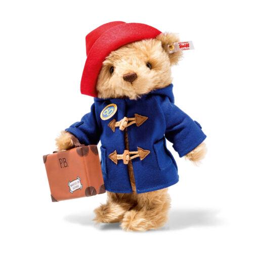 Steiff Bear EAN 690495 Paddington Bear 60th Anniversary Limited Edition