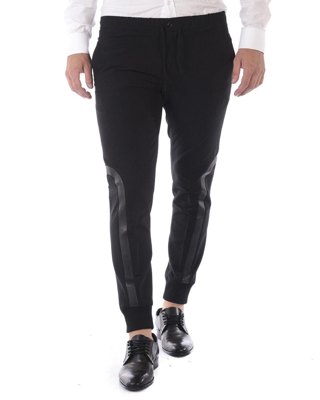Pantaloni Daniele Alessandrini Jeans Trouser men black P3494N8103705 1