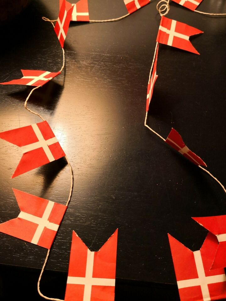 Julepynt, Flag ranker