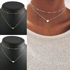 Fashion Charm Drop Pendant Chain Choker Chocker Necklace Women Jewelry Bib