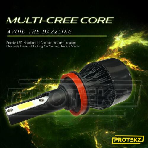 LED Headlight Conversion Kit Protekz 100W 30000LM 6000K for 2004-2018 GMC Canyon