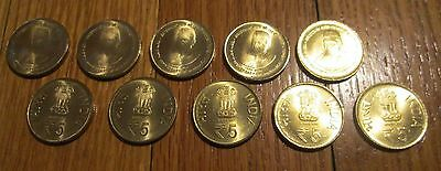 10 Coin India 125th Anniversary Of Jawaharlal Nehru 1st Prime Minister