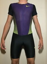 Nike Fit Dry Mens Track and Field Singlet Large L Purple Cool Running Suit Male