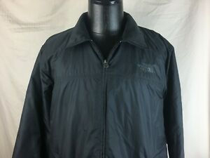 North-Face-Black-Jacket-Men-039-s-Size-XL-100-Polyester-Full-Zip