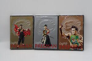 Nuevo-llorando-Freeman-Vol-1-2-3-R1-Coleccion-Completa-Ingles-Japon-idiomas