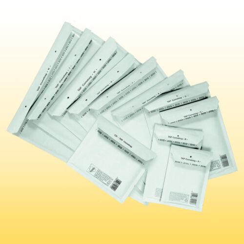 3 weiß TAP Luftpolsterumschläge C 600 Luftpolstertaschen Gr