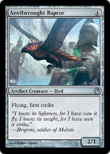 Anvilwrought Raptor Foil x1 NM  Magic the Gathering  MTG Theros, # 211