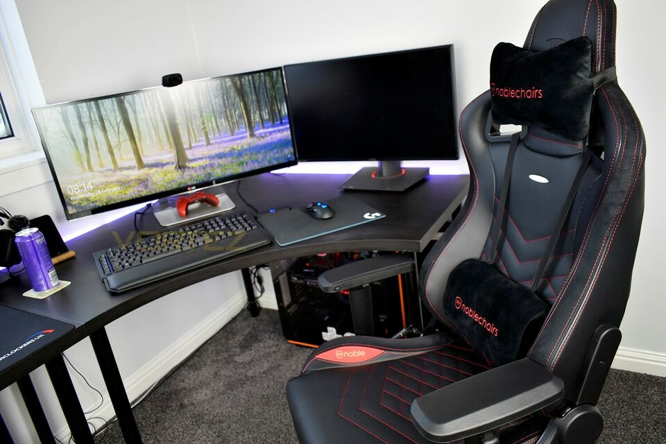 Kontorstol, Noblechairs Epic Gaming Chair - Black/Red