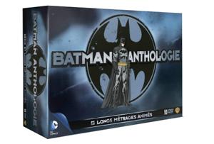 Estuche-10-DVD-Batman-Antologie-5-largos-peliculas-animacion-libro-NUEVO