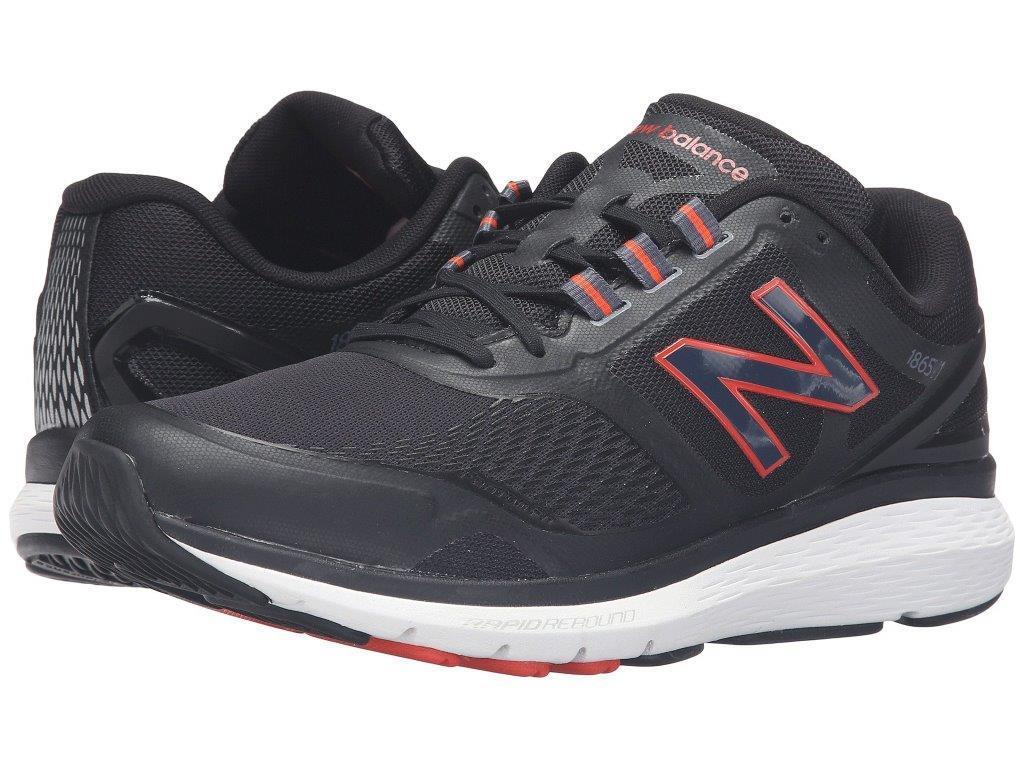 New Balance Men's MW1865 Sz US 13 13 13 D Black Mesh Walking Sneakers Shoes  130.00 cd2a6d