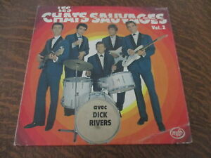 33-tours-les-chats-sauvages-vol-2-avec-dick-rivers-oh-baby-tu-me-rends-fou