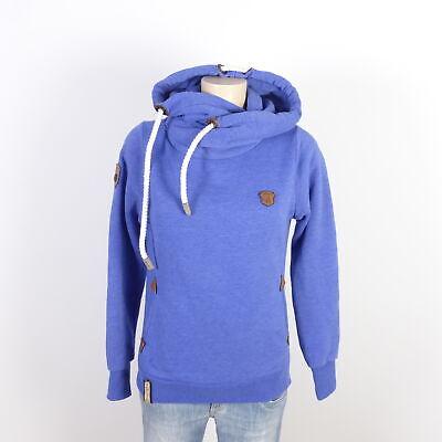 100% QualitäT Naketano Sweatshirt Hoodie Pullover Blau Gr. S 36 Attraktive Mode