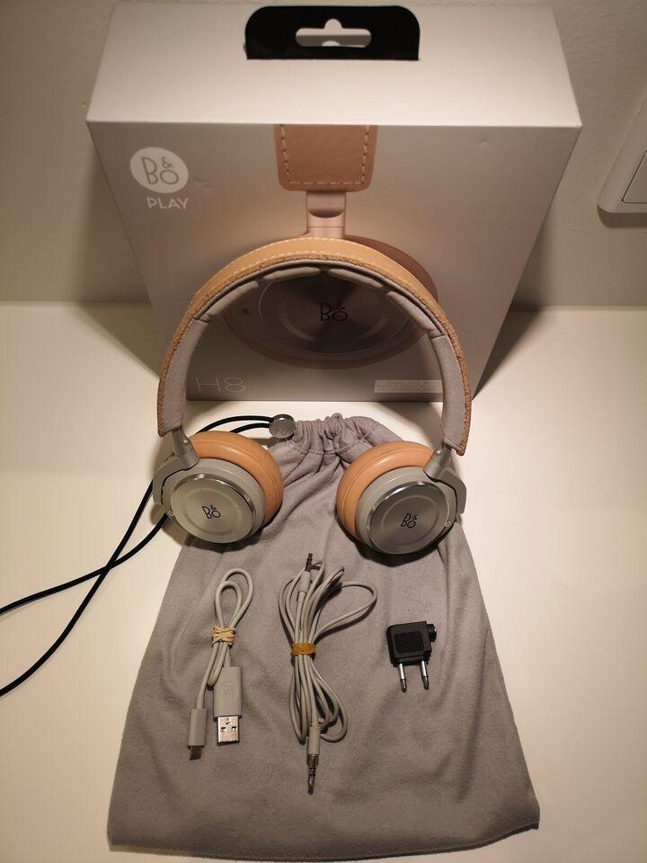 trådløse hovedtelefoner, B&O, H8