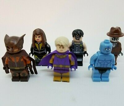 6 Piece Watchmen Building Blocks Mini Figures