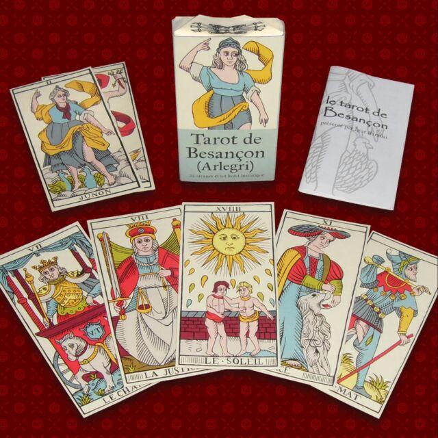 Tarot de Besançon style Arnoult - Lequart - Grimaud 1890 (édition artisanale)
