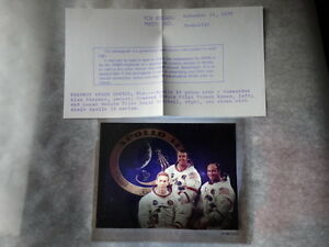 Vtg-Original-Apollo-14-Astronauts-NASA-Kodak-Film-4x5-Transparency-Crew-Photo