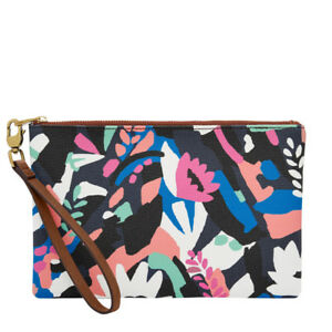 017fabbaaaa Image is loading Fossil-Small-Wristlet-Floral-SLG1126979