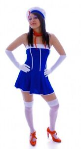 Ladies-Sailor-ChIck-3-Piece-Fancy-Dress-Costume-Size-12-14-New-amp-Sealed