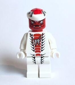 Lego Ninjago Snappa Fangpyre Scout Red Snake Ninja Minifigure 9442,9564