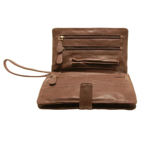 Stil weichem Brauner Rowallan Leder im Holborn aus Reiseartikel italienischen xRPOXwR1