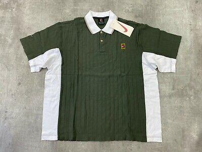 Nike vintage 90 s Cour suprême Sampras Polo homme ML | eBay
