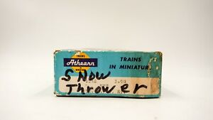 HO-gauge-Athearn-Rotary-Snow-Plow-thrower-1042-partially-assembled-brown