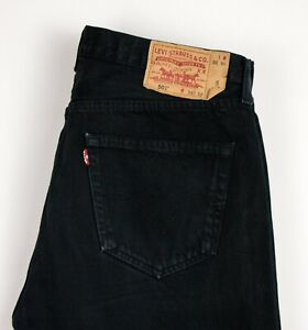 Levi-039-s-Strauss-amp-Co-Hommes-501-Jeans-Jambe-Droite-Taille-W36-L30-ASZ560