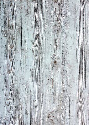 2mx67.5cm OLD WOODGRAIN WOOD SCRAPWOOD STICKY BACK PLASTIC SELF ADHESIVE VINYL