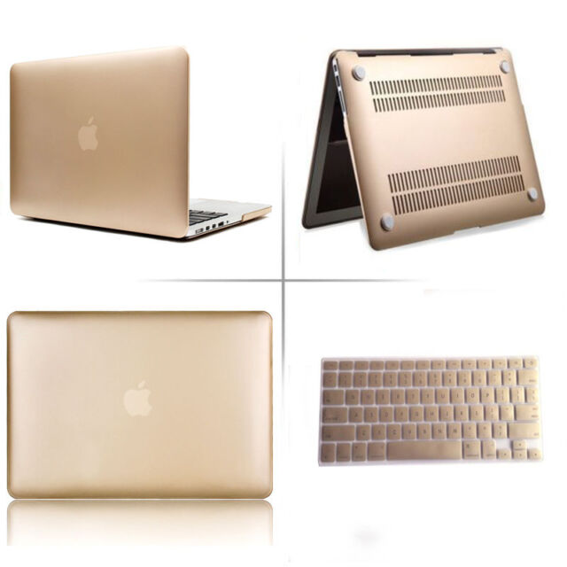 """Marble Wood Paint Laptop Hard Case +KB Cover for Macbook Pro13 15 Air 11 13 12"""""""