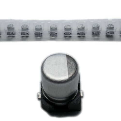electrolytic low impedance SMD 47uF 16VDC ±20/% PANASO 10X EEEFK1C470P Capacitor