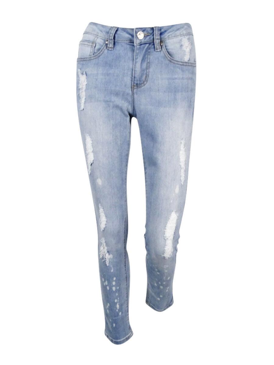 Earl Jeans Women's Skinny Ankle Jeans bluee, 2