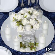 5 X Glass Round Mirror Plates Wedding Table Decoration Centrepiece ... 5 X Glass Round Mirror Plates Wedding Table Decoration Centrepiece  sc 1 st  Best Image Engine & Amusing Mirror Plates For Wedding Tables Photos - Best Image Engine ...