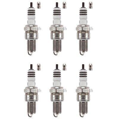 FOR V8 Engines 1998-2013 NEW BOSCH SPARK PLUG 4304 PLATINUM+2 SET OF 8