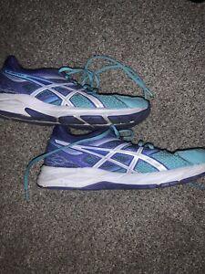 Asics-Gel-Contend-3-Women-039-s-Blue-Purple-Running-Sneakers-T5F9N-Size-US-8-5-Shoes