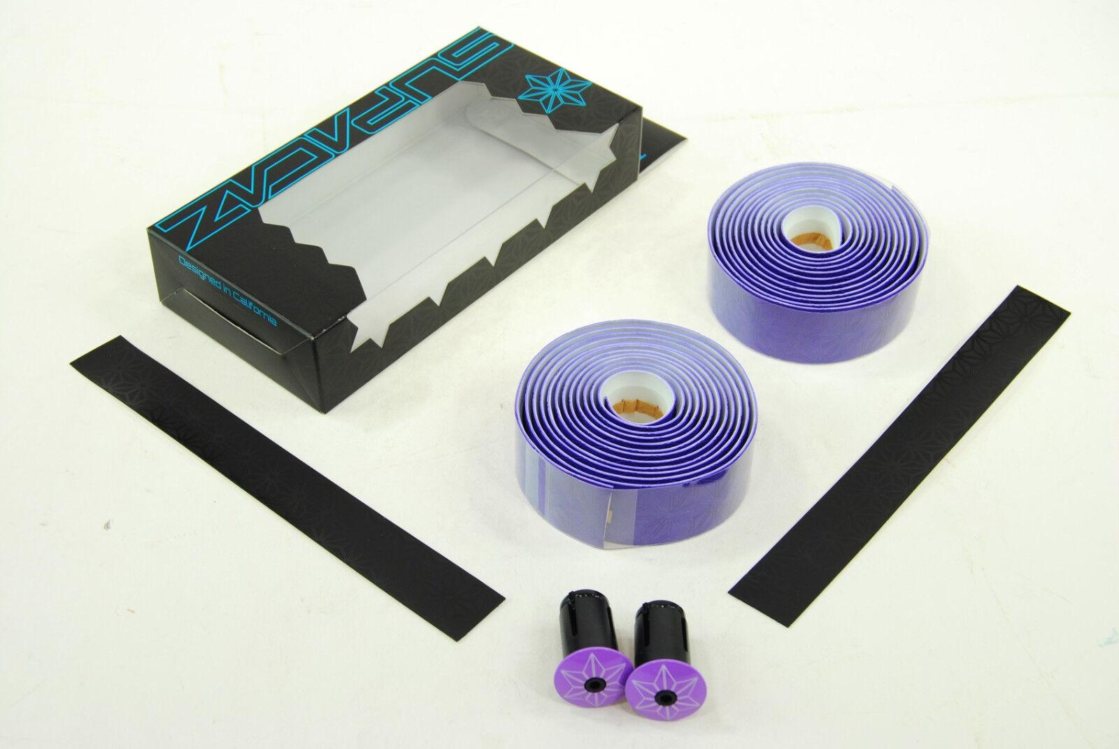 Neon Purple Galaxy BT-25 CYBER MONDAY Supacaz Super Sticky Kush Bar Tape