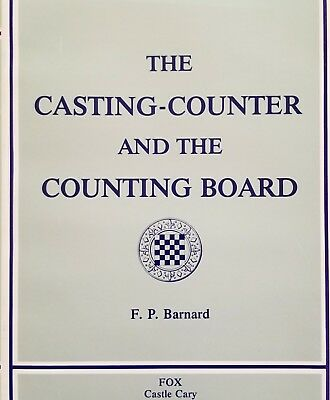 Francis Bernard HARD2FIND Jeton Tokens Casting Counter and the Counting-Board
