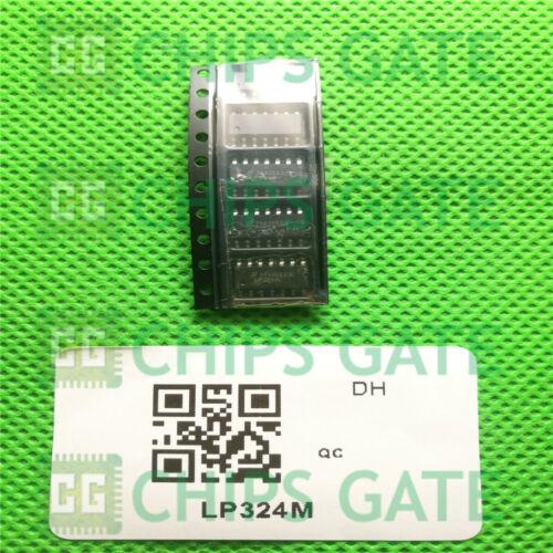5PCS LP324M TI IC OPAMP GP 100KHZ 14SOIC