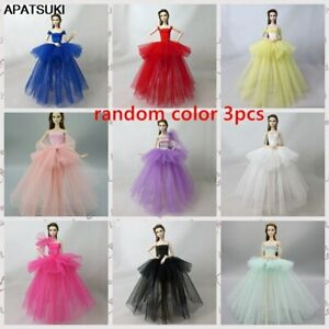 "3pcs//lot Random Ballet Dress For 11.5/"" Doll Clothes Evening Dresses Outfits 1//6"