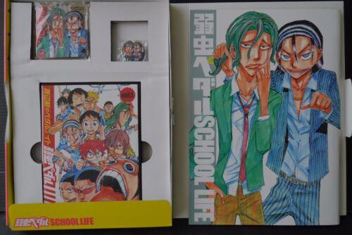 Yowamushi Pedal School Life Book,Key Holder,Batch,DVD JAPAN NEW Wataru Watanabe