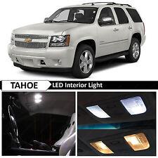 White Interior Led Light Package Kit For 2007 2014 Chevy Chevrolet Tahoe