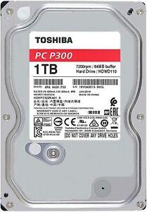 HARD DISK INTERNO 3,5 1TB 1000GB SATA 6GB/s 7200RPM HD HDD TOSHIBA PC DESKTOP