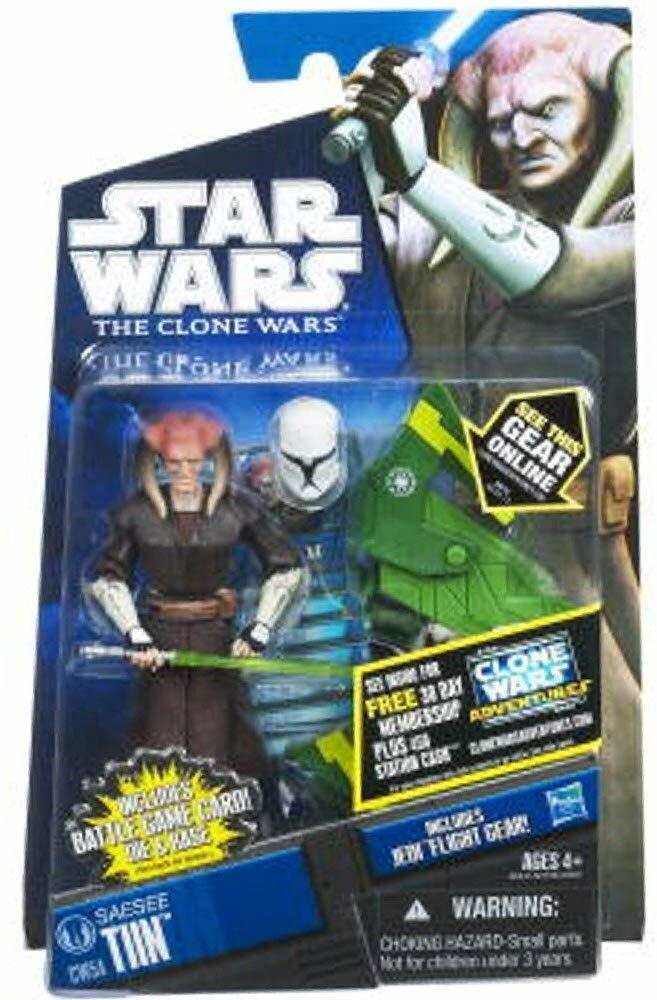 RARE estrella guerras Clone guerras Jedi estrellacombatiente Saesee CW54 MOC