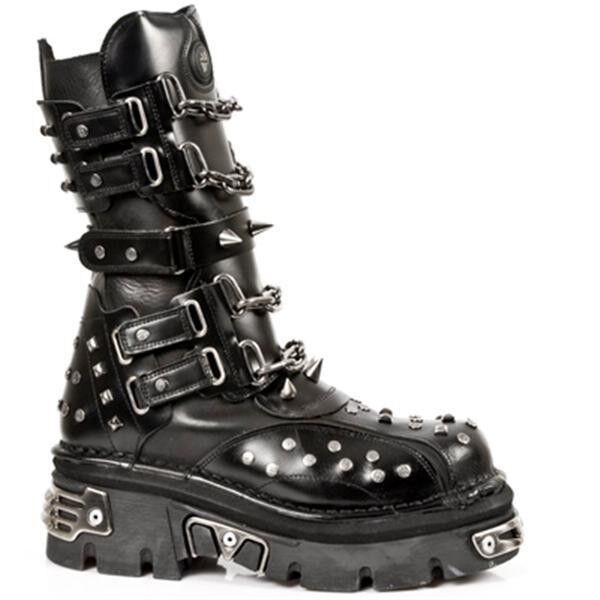 New Rock Boots Stiefel gothic schwarz M.799-S1