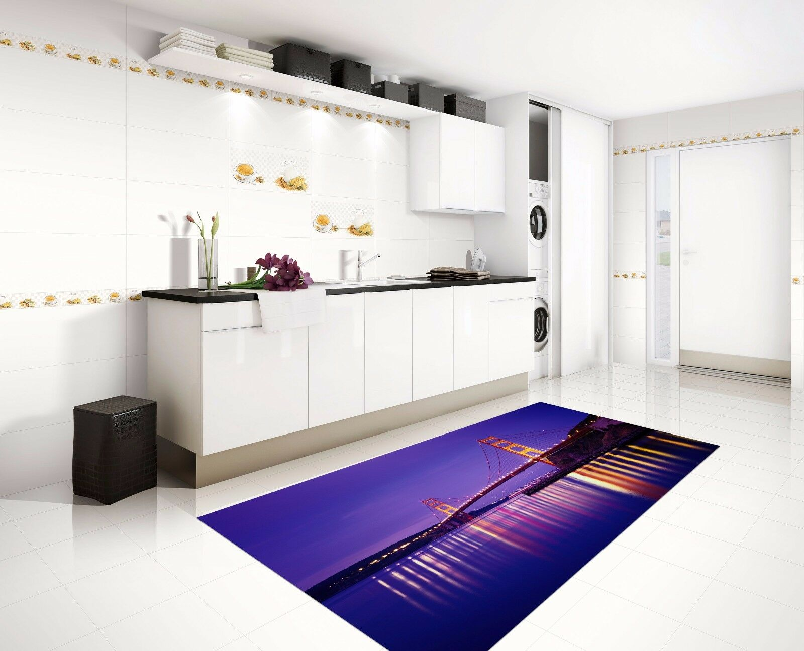 3D Sky Lake 522 Kitchen Mat Floor Murals Wall Print Wall AJ WALLPAPER AU Kyra