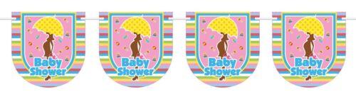 Süße Wimpelkette Babyshower NEU Zubehör Accessoire Karneval Fasching