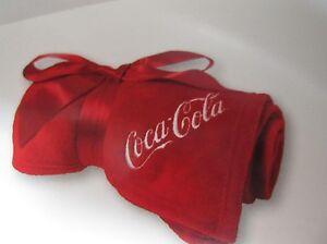 Image Is Loading Coca Cola Fleece Blanket Brand New